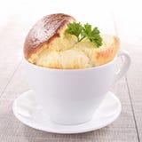 serowy souffle Fotografia Royalty Free