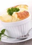 serowy souffle fotografia stock