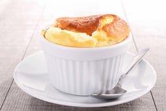 serowy souffle zdjęcie stock