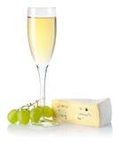 serowy wino obraz stock