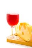 serowy wino Fotografia Stock