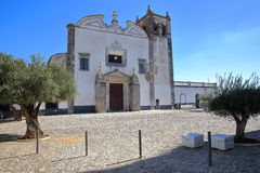 SERPA, ПОРТУГАЛИЯ: Церковь Santa Maria Стоковые Фото