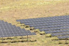 Serpa solar power plant Stock Photography
