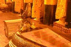 Serpant statue at Vihara Shwedagon Pagoda Stock Images