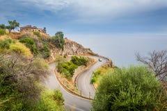 Serpantine road Stock Photo
