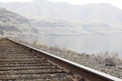 Serpeggi il canyon con il fiume Snake nello stato dell'Oregon Immagini Stock