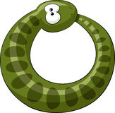 Serpent illustration stock