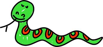 Serpent illustration libre de droits