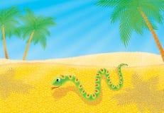 Serpent illustration de vecteur