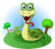 Serpent amical Photo libre de droits