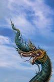Serpent at Buddhist temple in Chiang Rai. Naga in Chiang Rai Thailand Stock Image