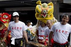 Serpent chinois d'an neuf de Wellington Photos stock