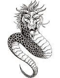 Serpent chinois de dragon Photo libre de droits