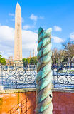 The Serpent Column Royalty Free Stock Photo