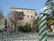 Serpent Column Instanbul. The Serpent Column in Constantinople now Istanbul Turkey Stock Photos