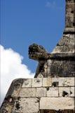 Serpent dans le mur Mexique photo stock