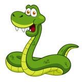 Serpent de bande dessinée Image libre de droits