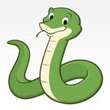 Serpent de bande dessinée Photographie stock