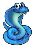Serpent de cobra de bande dessinée illustration de vecteur