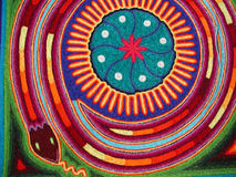 Serpent de Huichol photos stock