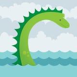 Serpent de mer illustration stock