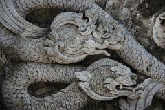 Serpent de stuc d'arts photographie stock libre de droits