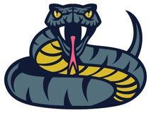 Serpent de vipère Images libres de droits