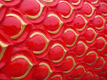 Serpent or dragon scales texture background Royalty Free Stock Images