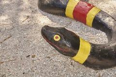 Serpent en céramique Images stock