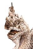 Serpent en pierre Image libre de droits
