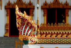 Serpent and faith. Sacred faith in Buddhism Royalty Free Stock Photos