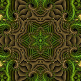 Serpent garden Stock Image
