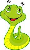 Serpent mignon de dessin animé Images stock