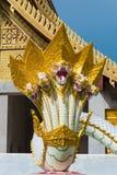 Serpent or Naga statue Stock Image