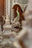 Serpent or Naga statue royalty free stock photo