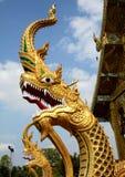 Serpent sculpture Stock Image