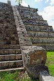 Serpent Temple Chichen Itza Mexico Stock Image
