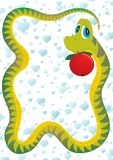 The serpent-tempter Royalty Free Stock Images