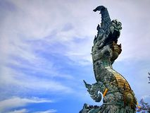 The serpent in Thailand. stock photography