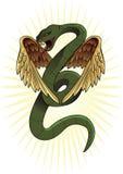Serpente alato Fotografia Stock