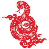 Serpente chinesa do ano novo Imagem de Stock