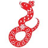 Serpente chinesa do ano novo Fotos de Stock Royalty Free