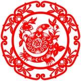 Serpente chinesa do ano novo Imagens de Stock Royalty Free