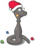 A serpente comeu o champanhe Fotografia de Stock