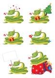 Serpente da coleção ilustração do vetor