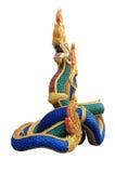 Serpente da estátua Imagens de Stock
