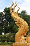 A serpente de três cabeças Fotografia de Stock Royalty Free