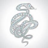 Serpente decorativa Fotos de Stock Royalty Free