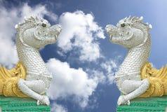 Serpente del cielo della Tailandia. Fotografie Stock Libere da Diritti