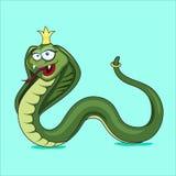 Serpente del fumetto Immagine Stock